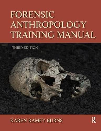 9781138403840: Forensic Anthropology Training Manual