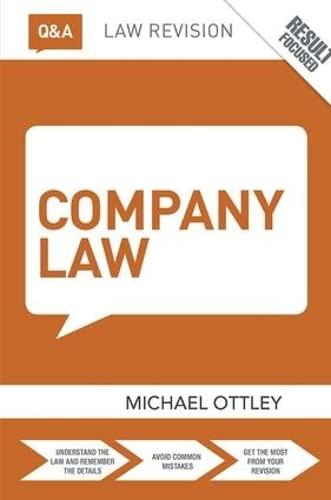 9781138409156: Q&A Company Law