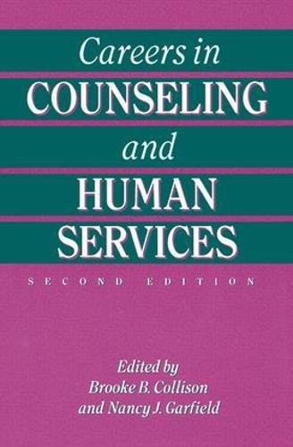 9781138415096: Careers In Counseling And Human Services