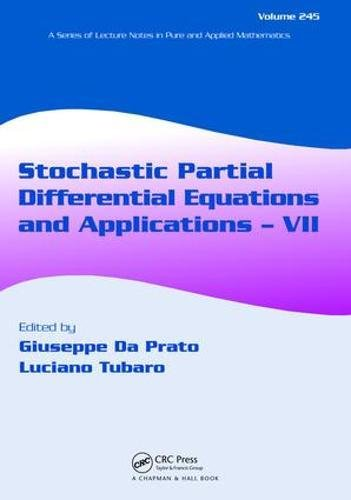 9781138417519: Stochastic Partial Differential Equations and Applications - VII