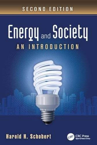 9781138422988: Energy and Society: An Introduction, Second Edition