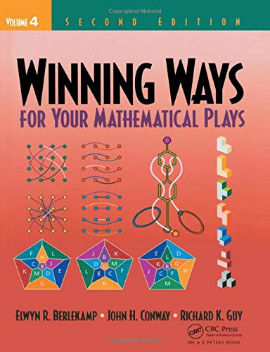 9781138427556: Winning Ways for Your Mathematical Plays, Volume 4