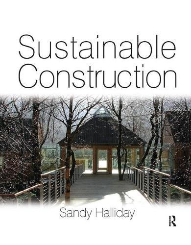 9781138430792: Sustainable Construction