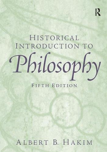 9781138432598: Historical Introduction to Philosophy