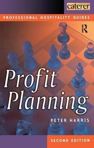 9781138432772: Profit Planning