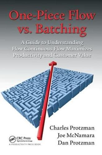 9781138438002: One-Piece Flow vs. Batching: A Guide to Understanding How Continuous Flow Maximizes Productivity and Customer Value