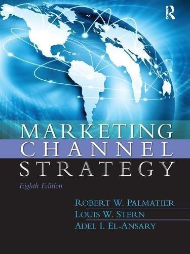 9781138440869: Marketing Channel Strategy