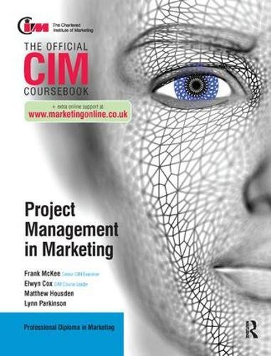 9781138440944: CIM Coursebook: Project Management in Marketing