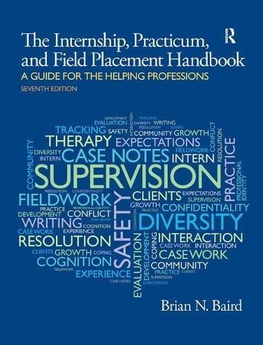 9781138451728: Internship, Practicum, and Field Placement Handbook