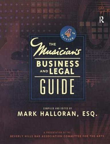 9781138453166: Musician's Business and Legal Guide