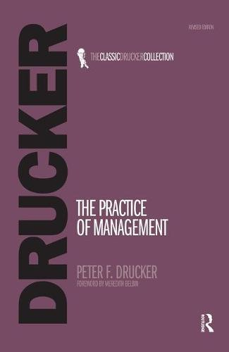 9781138454057: The Practice of Management