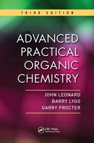9781138455931: Advanced Practical Organic Chemistry, Third Edition
