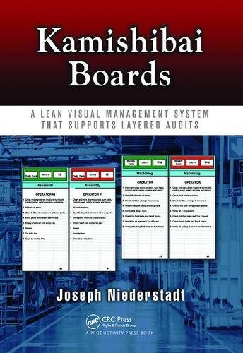 9781138463967: Kamishibai Boards: A Lean Visual Management System That Supports Layered Audits