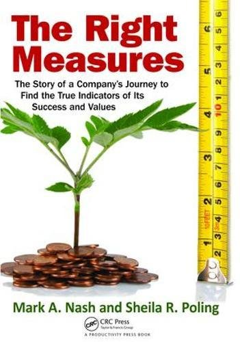9781138464087: The Right Measures: The Story of a Company's Journey to Find the True Indicators of Its Success and Values