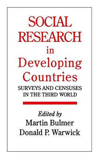 9781138468139: Social Research In Developing Countries: Surveys And Censuses In The Third World