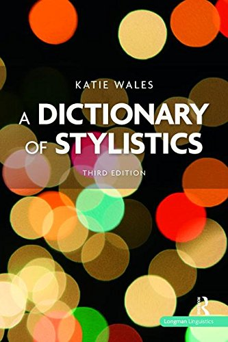 9781138470842: A Dictionary of Stylistics