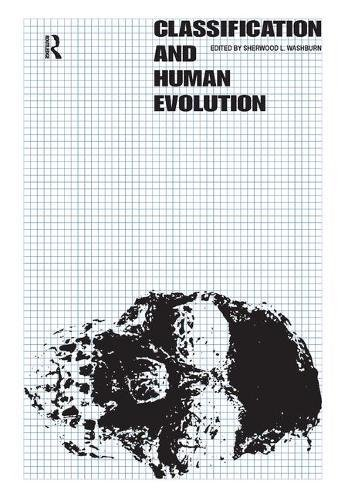 9781138520639: Classification and Human Evolution