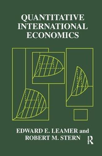 9781138531338: Quantitative International Economics