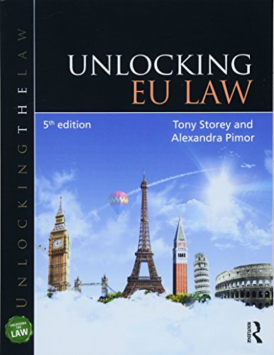 9781138572195: Unlocking EU Law (Unlocking the Law)