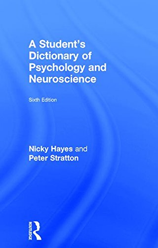 9781138632400: A Student's Dictionary of Psychology and Neuroscience