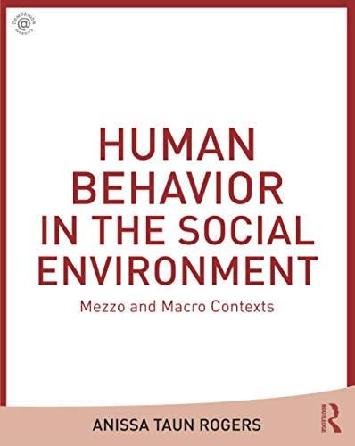 foundations of human development in the social environment This is the foundation course that covers the human behavior in the social environment (hbse) component of the msw curriculum, considering socio-psycho-biological factors associated with individual and group.
