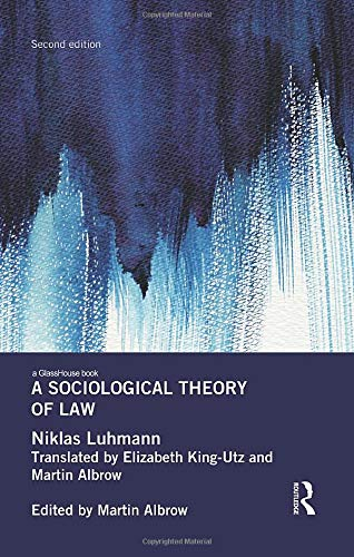 9781138644489: A Sociological Theory of Law