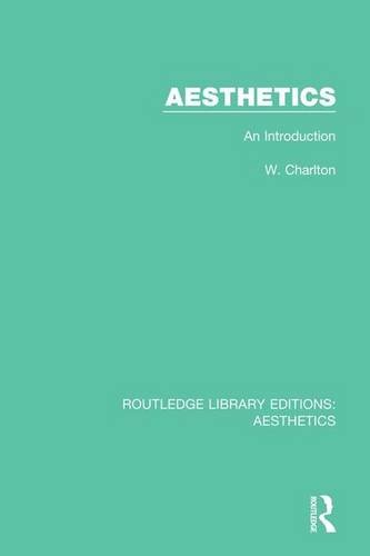 9781138649019: Aesthetics: An Introduction (Routledge Library Editions: Aesthetics) (Volume 1)
