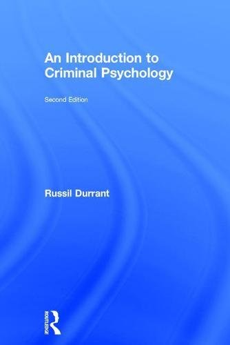 9781138650954: An Introduction to Criminal Psychology