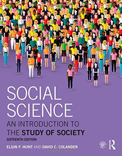 9781138654266: Social Science: An Introduction to the Study of Society