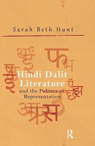 9781138660229: Hindi Dalit Literature and the Politics of Representation