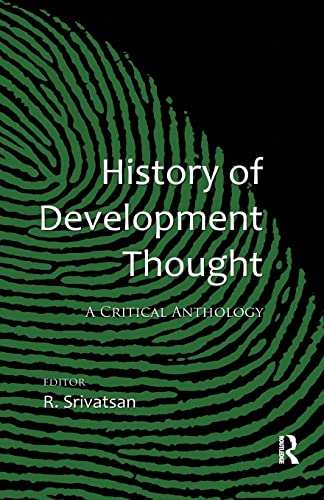 9781138664838: History of Development Thought: A Critical Anthology