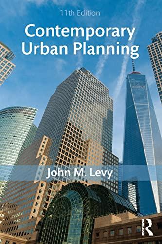 9781138666382: Contemporary Urban Planning