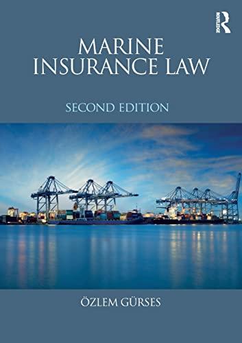 9781138669239: Marine Insurance Law