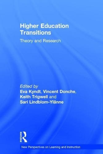 9781138670884: Higher Education Transitions: Theory and Research (New Perspectives on Learning and Instruction)