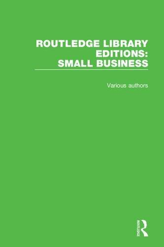 9781138673083: Routledge Library Editions: Small Business
