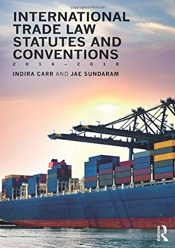 9781138684331: International Trade Law Statutes and Conventions 2016-2018