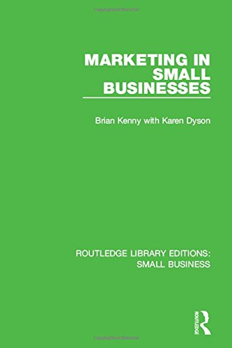 9781138685314: Marketing in Small Businesses (Routledge Library Editions: Small Business) (Volume 10)