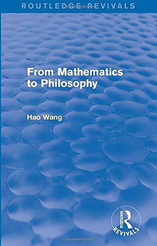 9781138687790: From Mathematics to Philosophy
