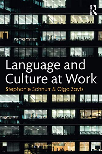9781138688490: Language and Culture at Work