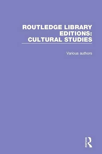 9781138691452: Routledge Library Editions: Cultural Studies
