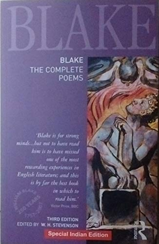 9781138694842: Blake: The Complete Poems 3rd ed (PB) [Paperback] [Jan 01, 2017] Stevenson, W H [Paperback] [Jan 01, 2017] Stevenson, W H