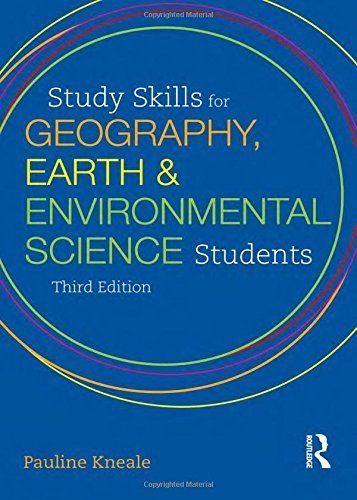 9781138694873: Study Skills for Geography Earth & Environmental Science Students