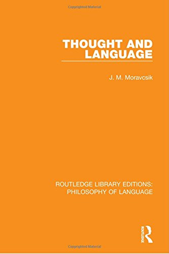 9781138696556: 10: Thought and Language: Volume 10 (Routledge Library Editions Phi)