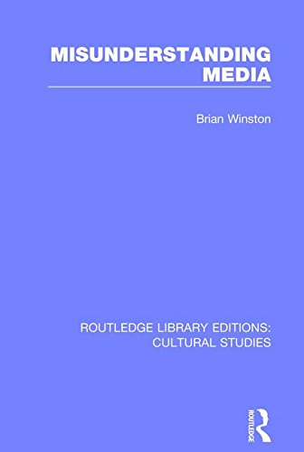 9781138699984: Misunderstanding Media (Routledge Library Editions: Cultural Studies) (Volume 4)
