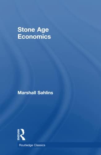 9781138702608: Stone Age Economics (Routledge Classics)