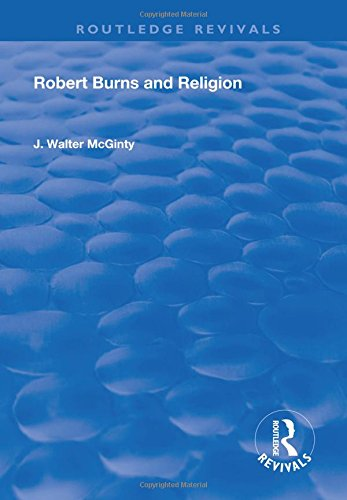 9781138714786: Robert Burns and Religion
