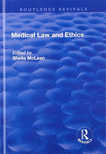 9781138730977: Medical Law and Ethics