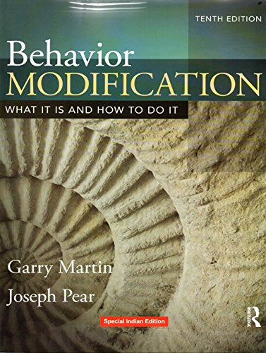 9781138744844: Behavior Modification : What It Is And How To Do It, 10Th Edn