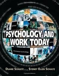 9781138744875: Psychology And Work Today, 10Th Edition