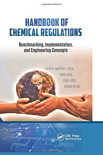 9781138749375: Handbook of Chemical Regulations: Benchmarking, Implementation, and Engineering Concepts